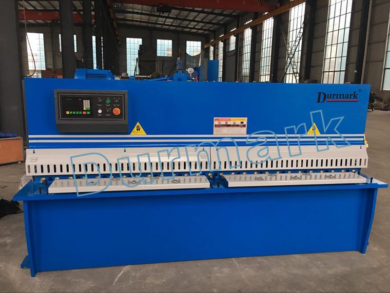 QC12K-6x4000mm Гидравлический с ЧПУ для резки листовой стали из углеродистой стали